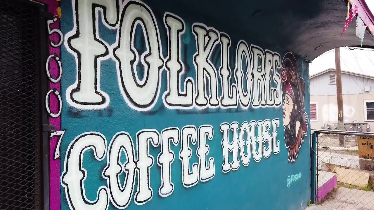 San Antonio Sipsters Folklores Coffee House Youtube
