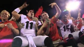 UGA celebrates three-peat against Florida