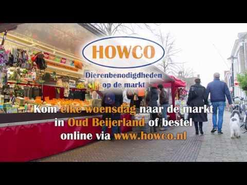 Howco Dierenbenodigdheden op de weekmarkt in Oud-Beijerland