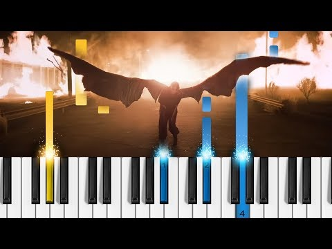 Billie Eilish - all the good girls go to hell - Piano Tutorial & Sheets! thumbnail