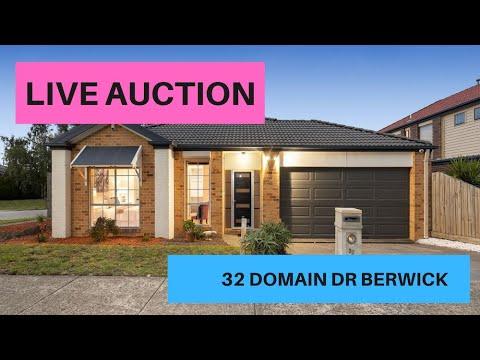 LIVE AUCTION -32 Domain Dr Berwick - Agent: Andre Jo - Win Real Estate