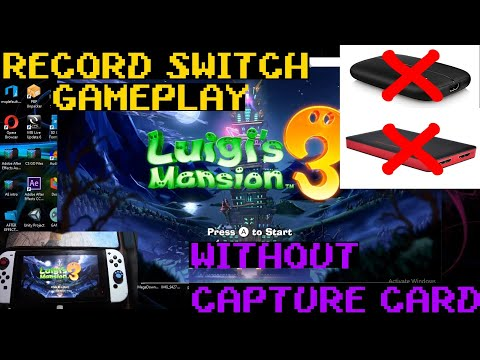 How To Stream Switch Gameplay Through PC | No Game Capture Card Needed!