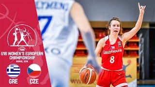 Greece v Czech Republic - Full Game - FIBA U16 Women's European Championship 2019