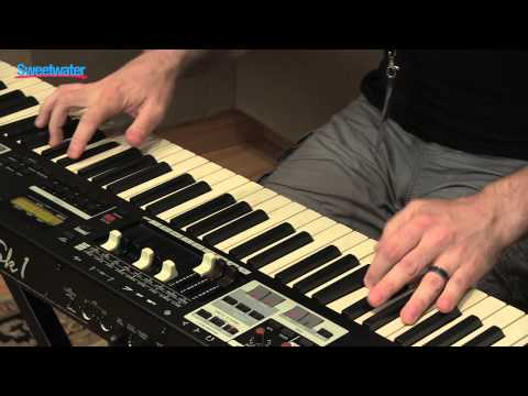 Hammond SK1-88 Portable Piano/Organ Demo at GearFest '13 - Sweetwater Sound