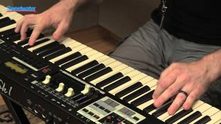 Hammond SK1-88 Portable Piano/Organ Demo at GearFest