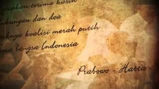 Ucapan Terimakasih Prabowo - Hatta (versi 2)
