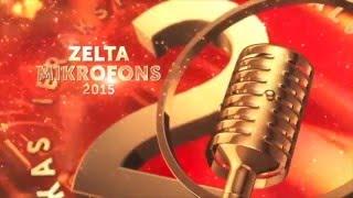 Zelta Mikrofons 2015 - Labākā dziesma