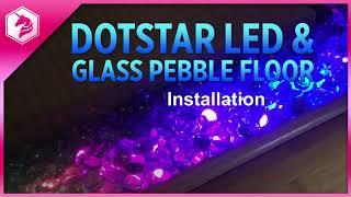 LEARN: Dotstar LED & Glass Pebble Floor: Assembly & Installation @adafruit #adafruit