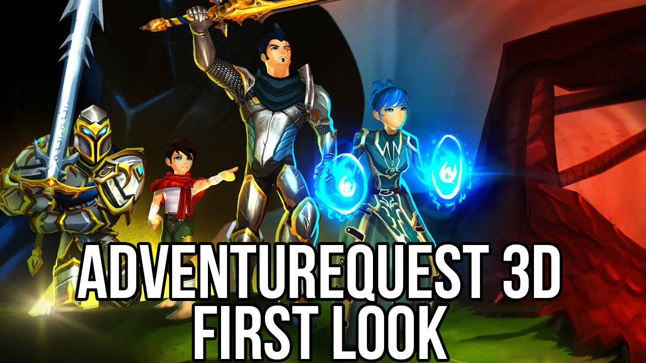 Adventure Quest 3D (Free MMORPG): Watcha Playin'? Gameplay First Look