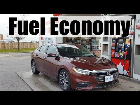 2019 Honda Insight - Fuel Economy MPG Review + Fill Up Costs