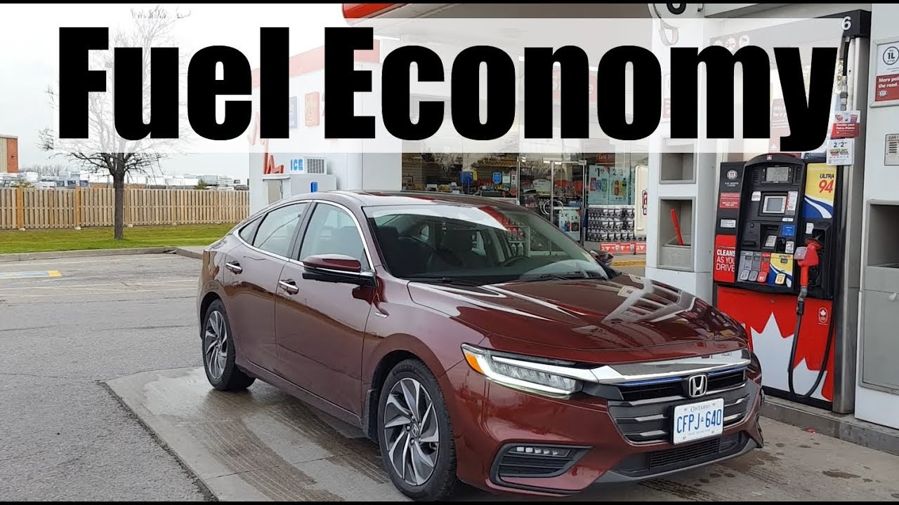 2019 Honda Insight Fuel Economy Mpg Review Fill Up Costs