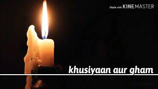khusiyaan aur gham | lirik dan terjemahan indonesia |  silpamudra javedev cover