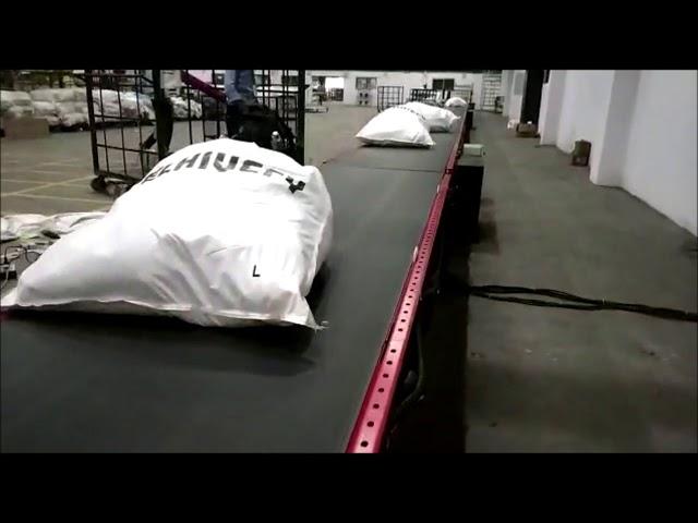 Bagging Conveyor | Belt Conveyor - Nido Machineries