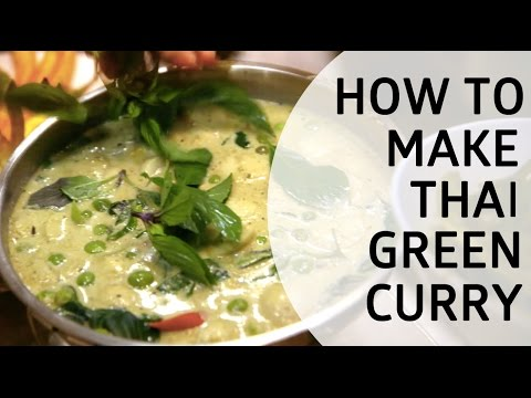 What It Takes to Make Traditional Thai Green Curry with Campbell's —— [SPONSORED]