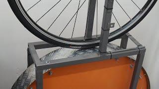 컨티넨탈 5000 타이어 구름저항 실험...