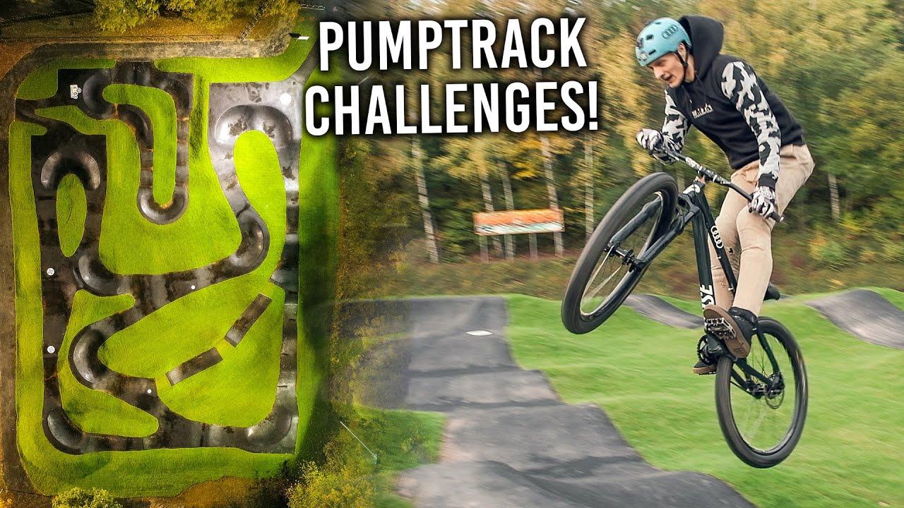 PUMPTRACK TRICK CHALLENGES - RadQuartier Pumptrack Sontra