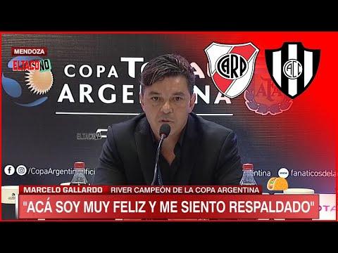 🎙Conferencia GALLARDO River 3 - 0 Central Cordoba Copa Argentina 2019