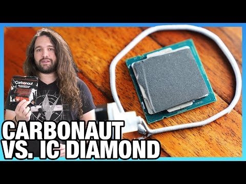 Thermal Grizzly Carbonaut Review vs. IC Diamond Thermal Pad & Thermal Paste Benchmarks