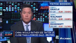 China would rather see TikTok …