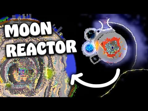 """My MOON REACTOR Causes a few """"issues"""" on Earth in The Powder Toy 