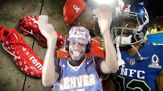 ODELL CATCHING BODIES IN THE LOUIE V SUPREME CLEATS! 2017 NFL PRO BOWL GAME HIGHLIGHTS REACTION