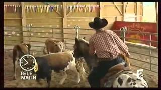 Randals Bison dans Télématin - émission du 10 juillet 2010