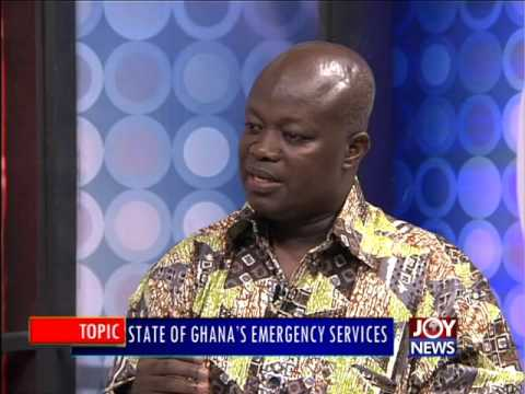 State of Ghana's emergency services - PM Express on Joy News (23-2-16)