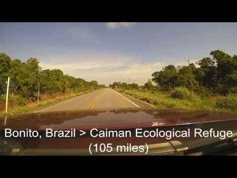 Brazil - Bolivia - Argentina Road Trip Driving Route December 2016 - Brinno time-lapse