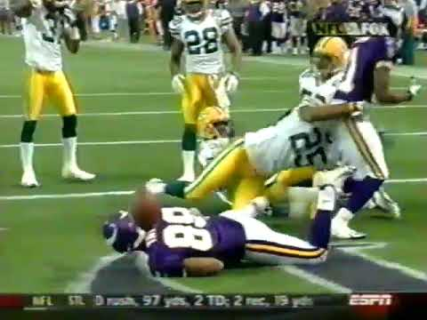 [Highlights] Week 7 2005- The Vikings rally from a 17-0 halftime deficit to win 23-20 on a 56 yard walkoff FG in what would be Daunte Culpepper's final game as a Vikings at the Metrodome
