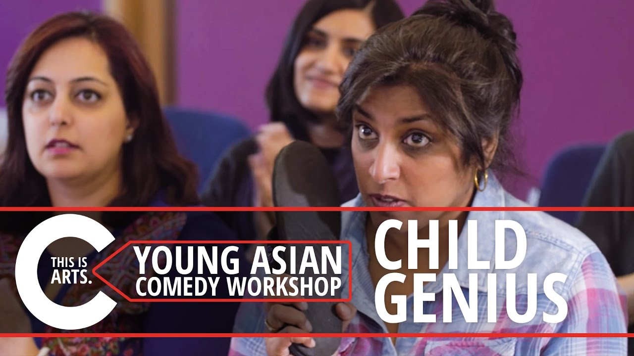 CHILD GENIUS   YOUNG ASIAN COMEDY WORKSHOP