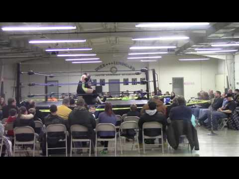 Dcw wrestling:Alexander Drago vs Big jim Hutchinson dcw championship match