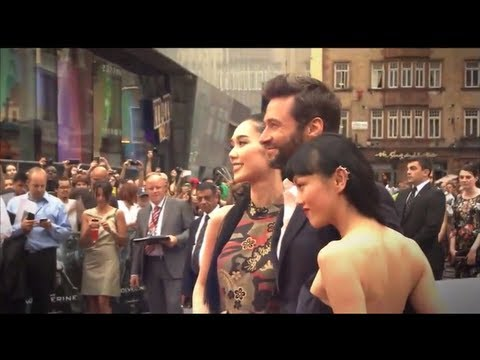 The Wolverine: Hugh Jackman Arrival at UK Premiere