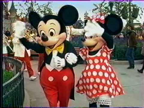Publicité Disneyland Paris