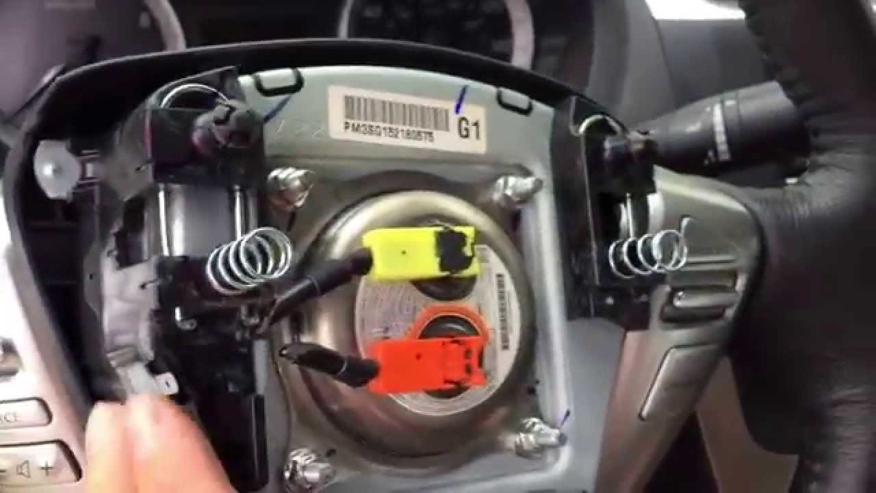 How To Remove Airbag 2013 14 15 Nissan Altima Sentra Air Bag  YouTube