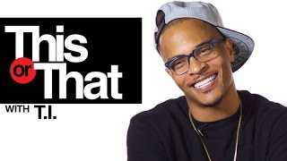 T.I. Plays This or That | Presented by Hotnewhiphop