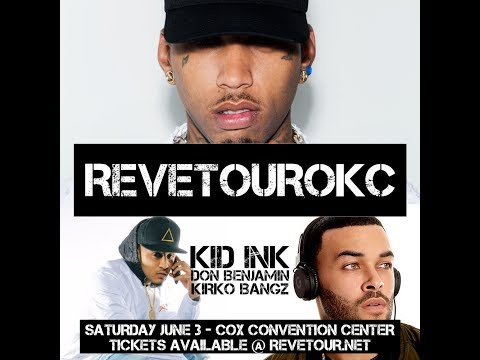 Reve Tour OKC  - Saturday, June 3rd at The Cox Convention Center
