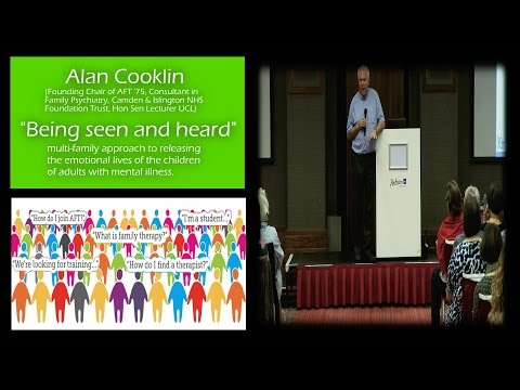 "Alan Cooklin ""Being seen and heard"" AFT 40th Anniversary Conference 2015"