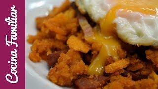 Migas del pastor. Receta tradicional de la gastronomía española