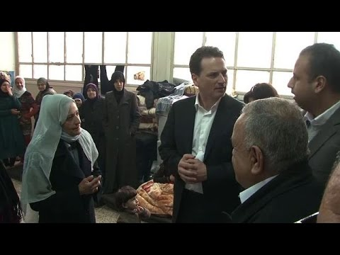 UN envoy visits Syria on Yarmuk aid mission