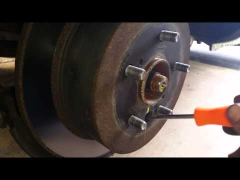 Stuck rotor removal tips  2007 Toyota Highlander