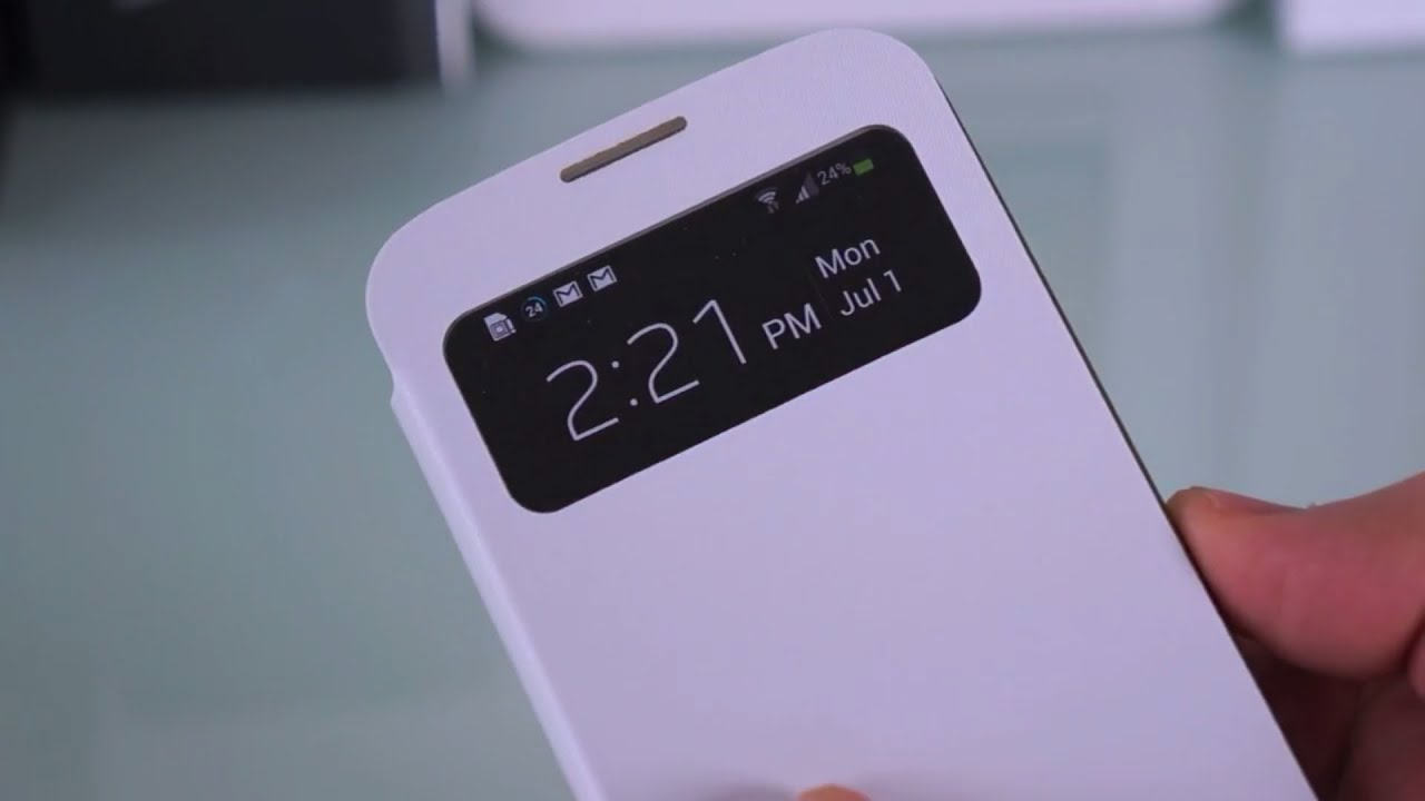 Samsung galaxy s4 flip and s view cover case review youtube ccuart Image collections