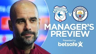 TRANSFER UPDATE | Pep's Press Conference | FA Cup | Cardiff City v Manchester City | Part 1