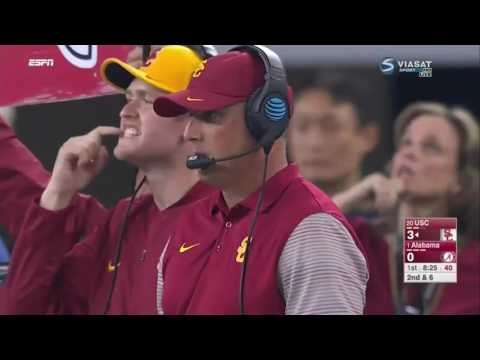 2016 #1 Alabama Crimson Tide vs. #20 USC Trojans - Eli Gold Call