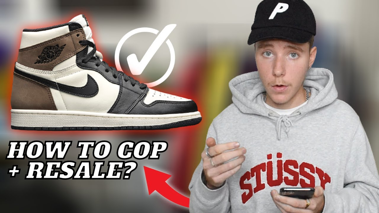 How To Cop Nike Air Jordan 1 Dark Mocha + Resell Predictions | HOLD or  SELL? Good Sneaker Investment