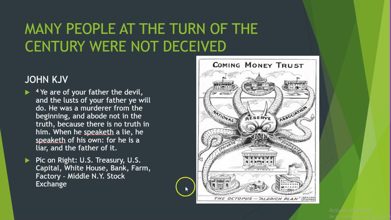 The Deception Of The Federal Reserve Bank Youtube