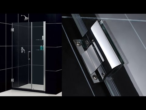 DreamLine Unidoor 45-46 Inch Frameless Hinged Shower Door In Chrome With 2 Integrated Glass Shelves & DreamLine Unidoor 45-46 Inch Frameless Hinged Shower Door In ... pezcame.com