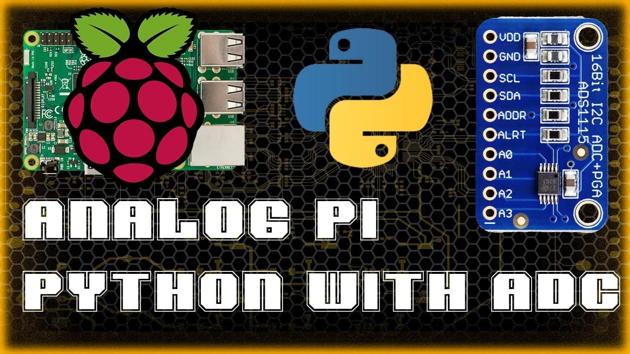 Analog Pi Ads1115 Adc With Raspberry Wiringpi Spi Mcp3008