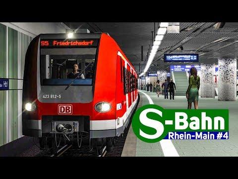 Train Simulator 2018: S-BAHN Rhein-Main #4 - Durch den Frankfurter Tunnel und die Hauptwache!