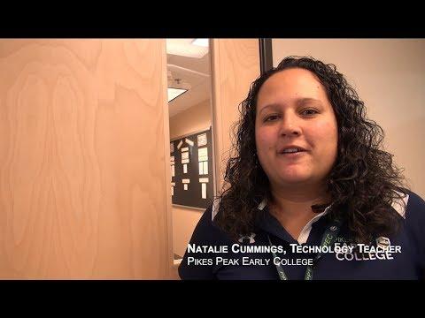 Natalie Cummings, Techonology Teacher - Pikes Peak Early College
