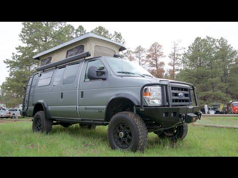 Sportsmobile 4x4 camper vans :Overland Expo Flagstaff Arizona
